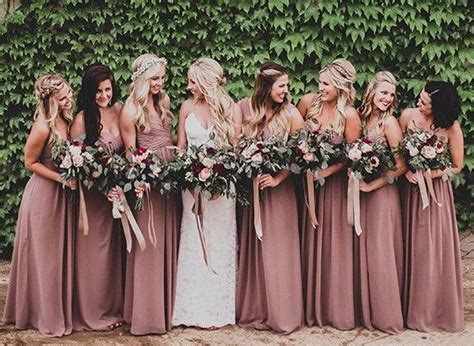 trending 25 stunning mauve wedding best 25 mauve bridesmaid dresses ideas on