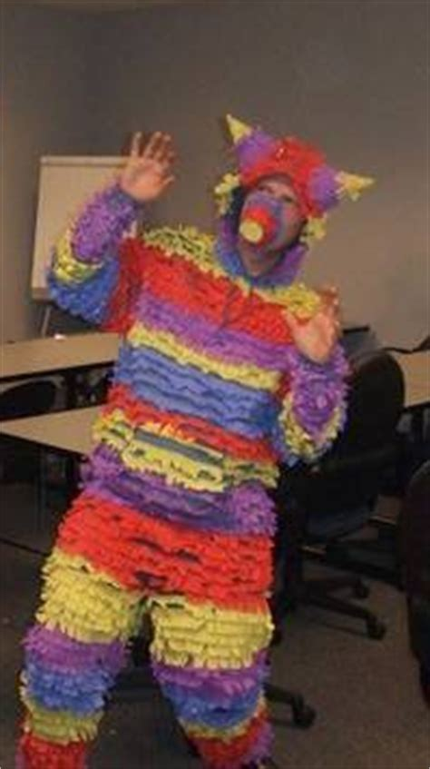 most awesome homemade pinata costume ever 44 homemade halloween costumes for adults c r a f t