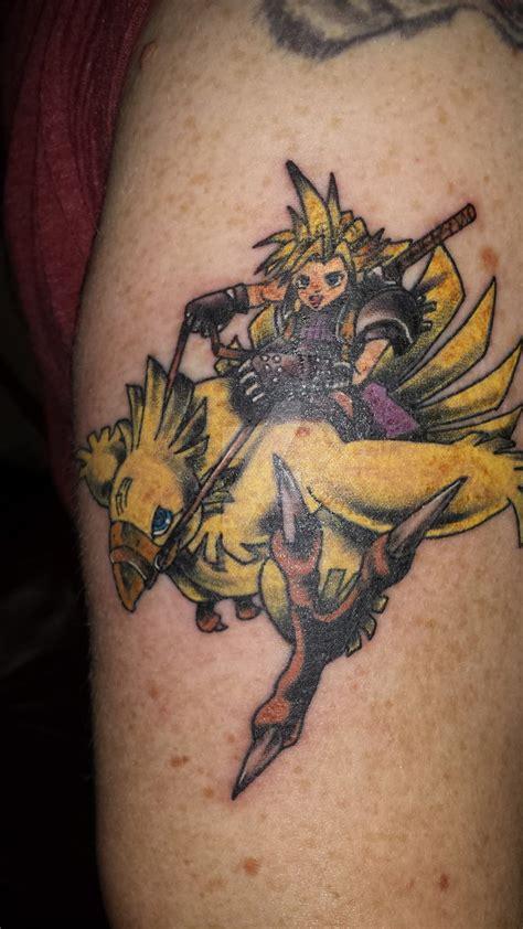 chocobo tattoo my chocobo by spicy pumpkin on deviantart