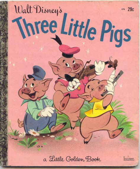 three pigs story book with pictures gold country three pigs