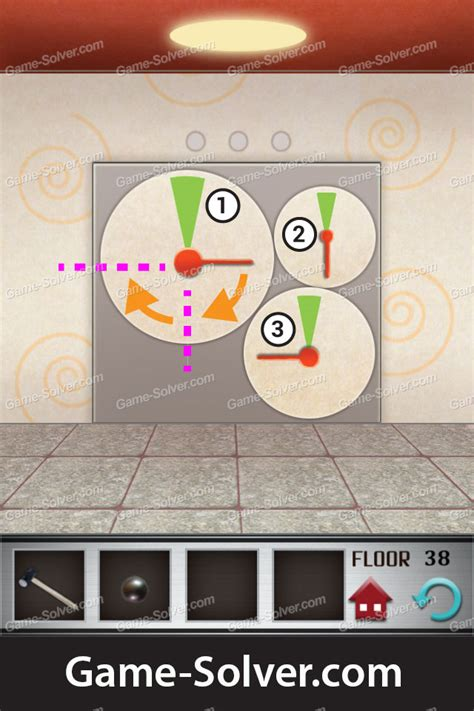 cheats for 100 floor game 100 floors level 38 game solver