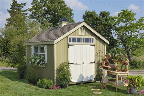 backyard storage shed kits williamsburg colonial wooden outdoor garden shed kit 10 x 10 10x10 wcgs wpnk