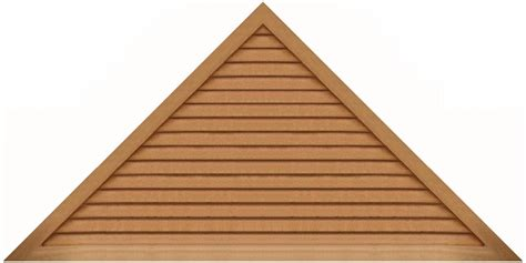 Triangular Gable 96 Quot Base 12 12 Pitch Triangle Gable Vent