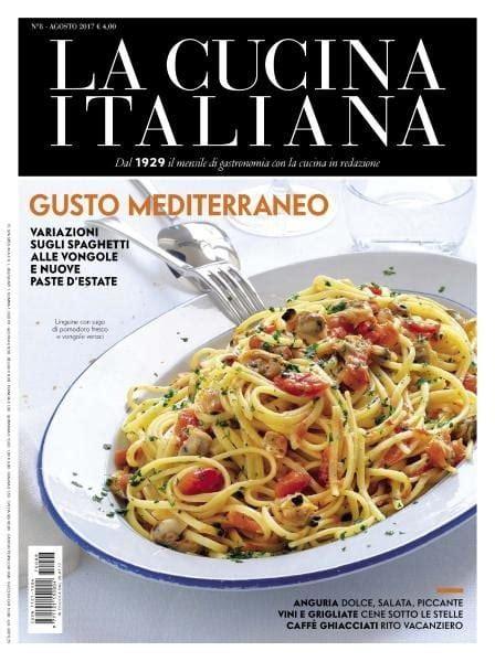 pdf cucina italiana la cucina italiana agosto 2017 pdf free