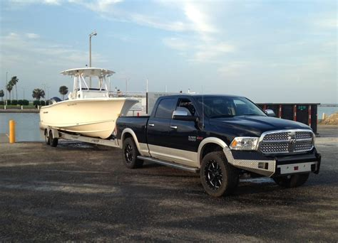 tow for boat trailer towing a boat dodge and ram have you covered with an suv