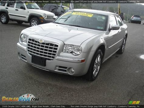 2008 Chrysler 300 Hemi by 2008 Chrysler 300 C Hemi Awd Bright Silver Metallic