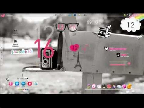 decorar escritorio pc decora tu escritorio con esta aplicacion rainmeter