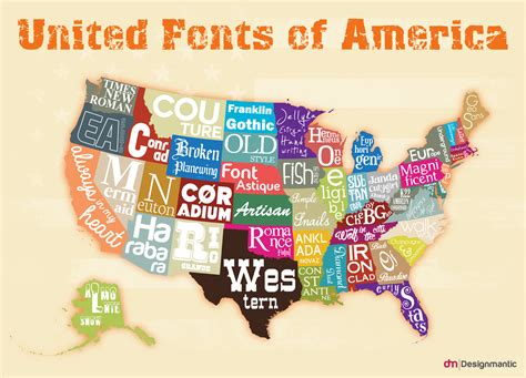 designmantic font the united fonts of america designmantic the design shop