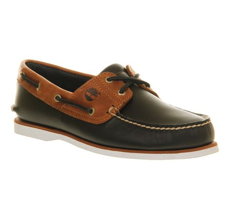 boat shoes office mens timberland boat shoe exclusive navy tan leather