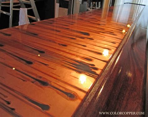 Copper Bar Tops by Copper Bar Top Brew Pub Interior