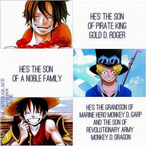 One Piece Kink Meme - 17 best images about luffy ace sabo brotherhood on