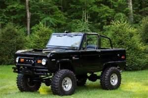 Ford Bronco Restoration Sell New 1971 Ford Bronco Sport Frame Restoration