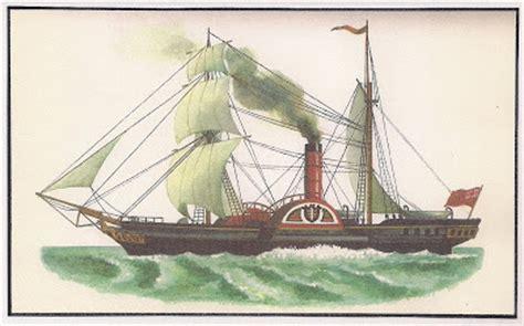 barco a vapor seculo xix alernavios setembro 2009