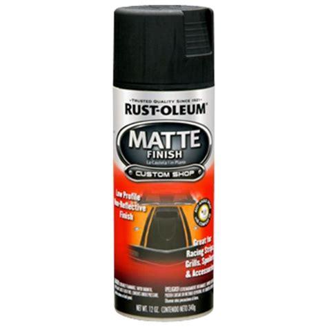 home depot spray paint for cars rust oleum automotive 12 oz black matte finish spray