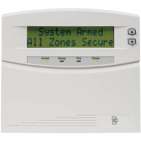 nx 148e ge interlogix networx 192 zone lcd alarm keypad