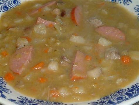 gritibana soep oer hollands snert als maaltijd soep recept smulweb nl