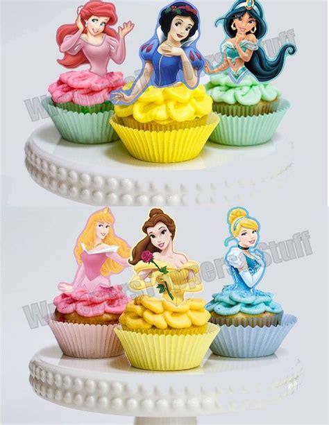 Topper Cake Topper Cupcake Disney Princess printable disney princess cupcake toppers princess