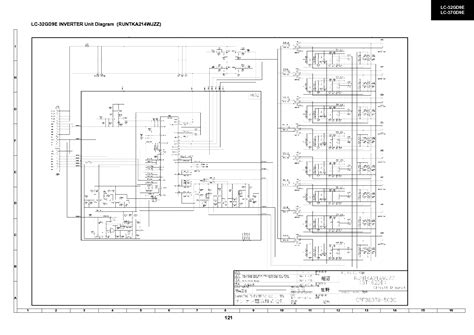Inverter Tv Lcd Sharp Lc 22l10m Gy sharp c1471 tv sm service manual schematics