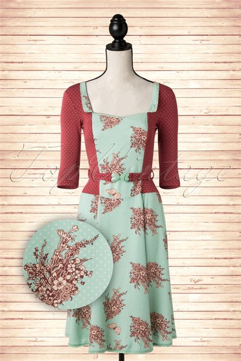 Sale 39 Boneka Sapi Totol Xl 40 Cm 40s total eclipse bouquet dress in maroon and mint