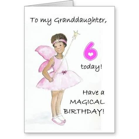 Sixth Birthday Quotes Happy 15th Birthday Granddaughter E Card Nicewishes Com