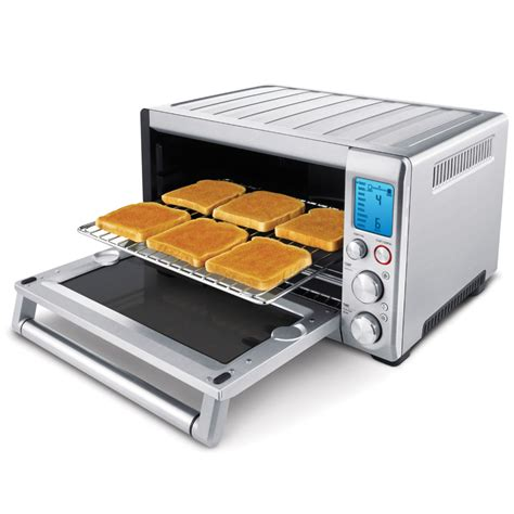 The Best Toaster Ovens the best toaster oven hammacher schlemmer