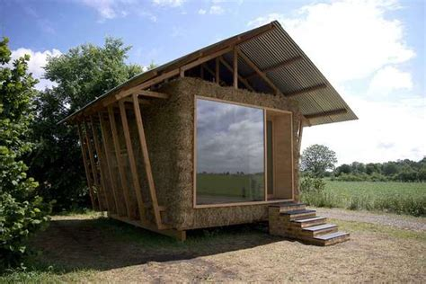 eco cabin straw stuffed eco cabins nest design