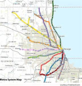 Chicago Metra Train Map by A User S Guide To Chicago Metra Travel Kaehler Blog