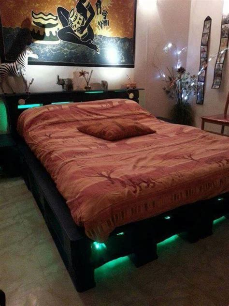 Beautiful Diy Pallet Bed 99 Pallets 30 Diy Pallet Furniture Projects 99 Pallets