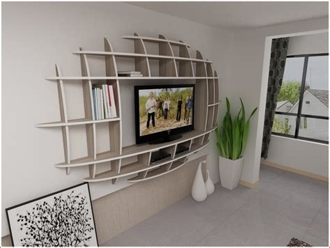 Modern Living Room Shelves by Modern 3d Shelf Unit For Your Living Room
