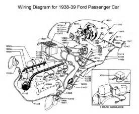 Flathead_Electrical_wirediagram1938 39car 1938 ford wiring diagram on ford 9n tractor wiring schematic