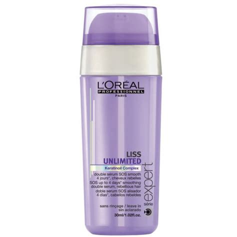 Serum Muka L Oreal l oreal professionnel serie expert liss unlimited sos smoothing serum 30ml free