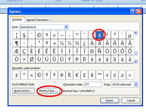shortcut for section symbol in word image gallery word symbols
