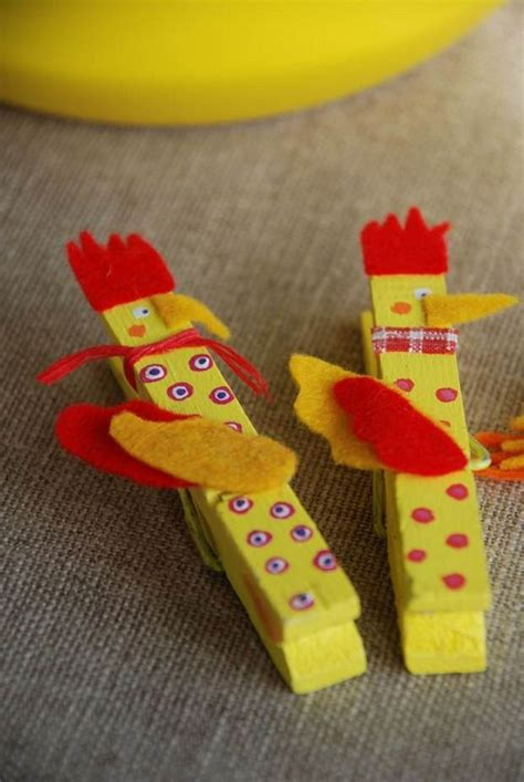 Creative Handmade Crafts - 30 easy upcycled and creative diy clothespin crafts idea
