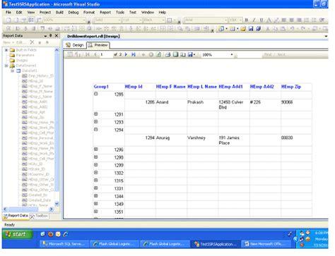 format file visual studio creating drilldown report in visual studio