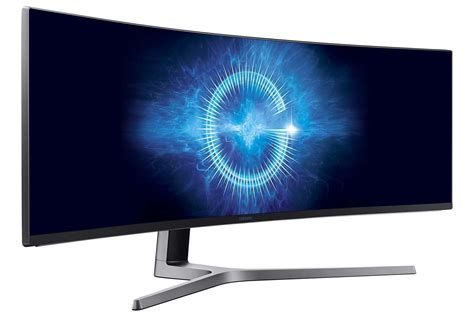 Led Samsung Curved samsung chg9 series led monitor curved 49inch 3840 x 1080 lc49hg90dmuxen novatech