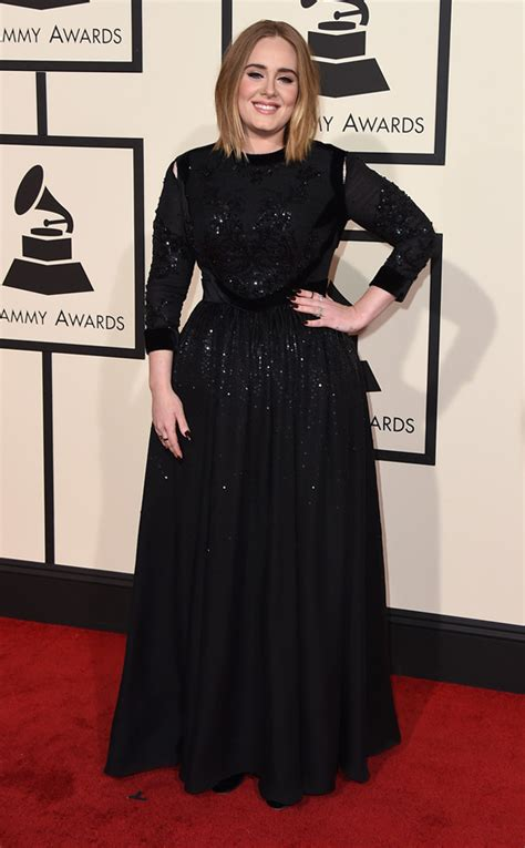 adele grammys dress 2013 see the singer s red carpet look 2016 grammy red carpet looks featuring adele elle king