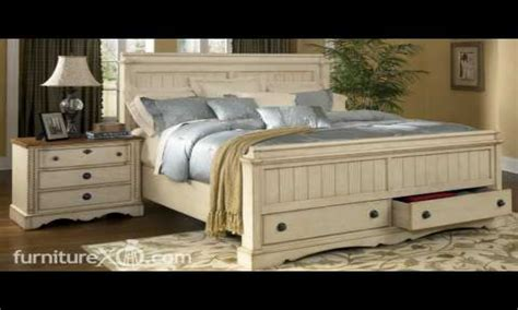 colored bedroom furniture antique white distressed
