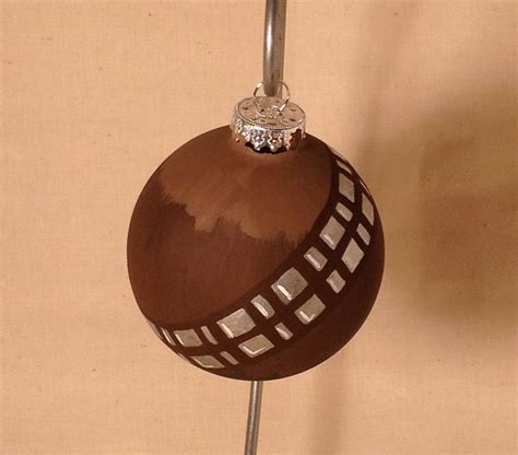 chewbacca inspired ornament christmas ornament my