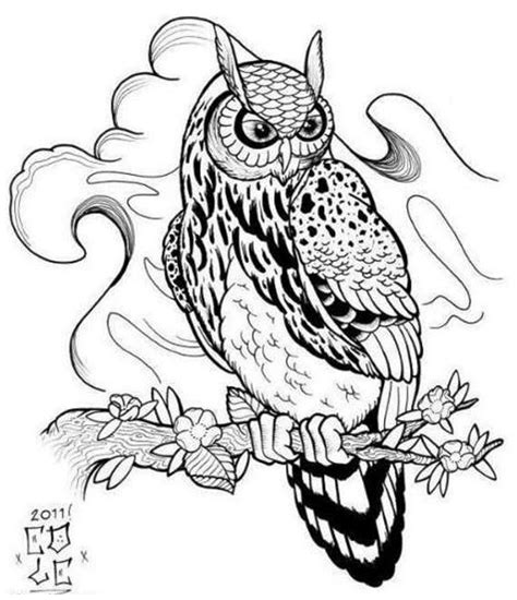 owl tattoo design drawing owl tattoo designs drawings clipart best