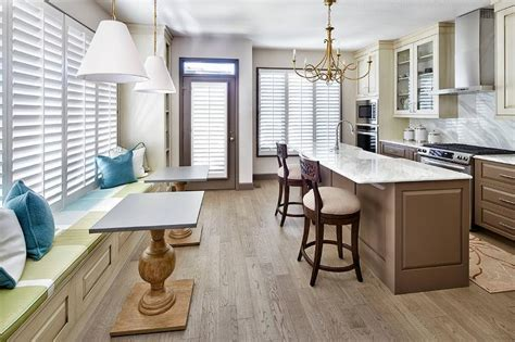 Brown Wainscoting by Gold Twist Chandelier Design Ideas