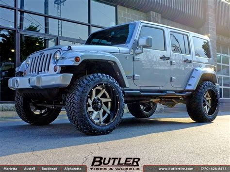 Jeep Wrangler 22 Jeep Wrangler With 22in Fuel Renegade Wheels Exclusively