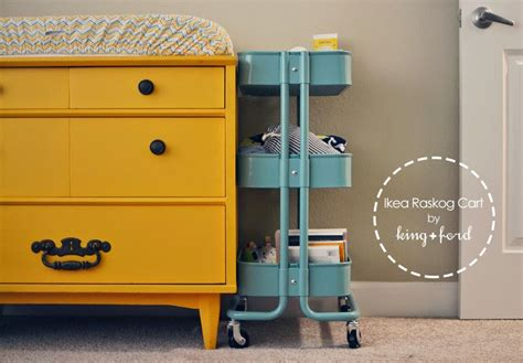 ikea cart raskog 36 creative ways to use the r 197 skog ikea kitchen cart