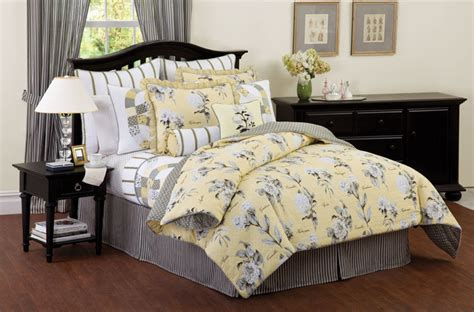 yellow and black comforter set richfield yellow black bedding quilt comforter more ebay