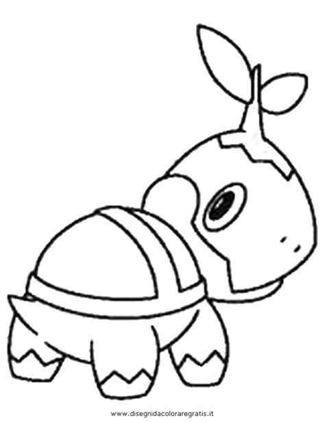 Pokemon Torterra Coloring Pages Images Pokemon Images Turtwig Coloring Pages
