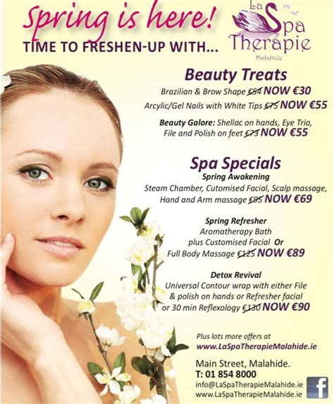specials from la spa special offers