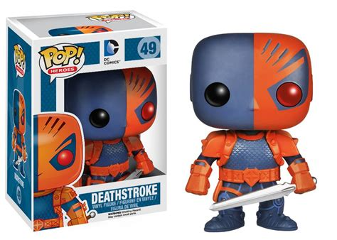 Funko Pop Deathstroke Dc deathstroke funko pop previews exclusive nerdfu