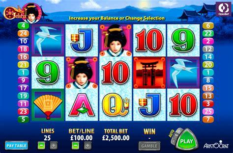play geisha  slot aristocrat casino slots