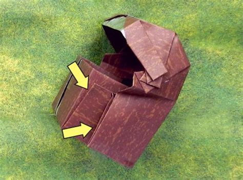 Origami Treasure Chest - joost langeveld origami page