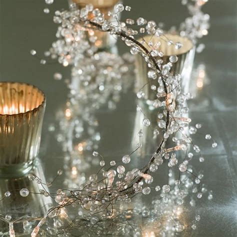 graphite crystal light garland fabulous decoration accessories home design inspiration