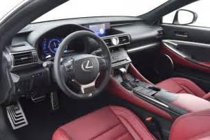 Lexus Rcf Interior Lexus Rc F Sport Interior